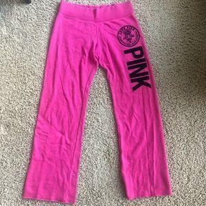 VS pink sweats Sz S